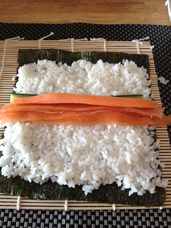 zelf sushi maken met saitaku -