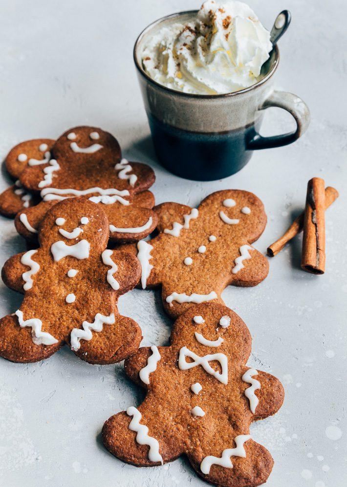 Gingerbread koekjes met glazuur