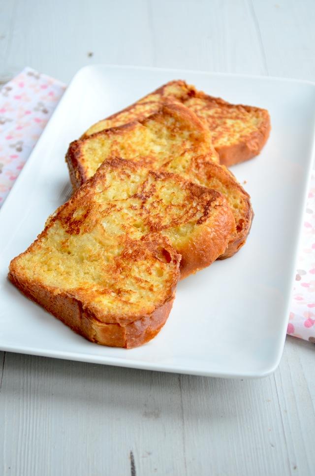 Wentelteefjes van brioche brood