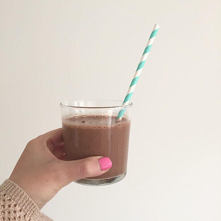 chocolade milkshake