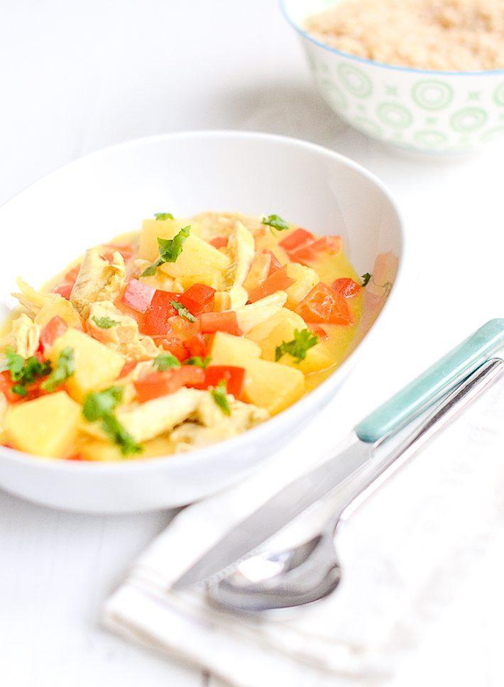 kipkerrie-met-ananas