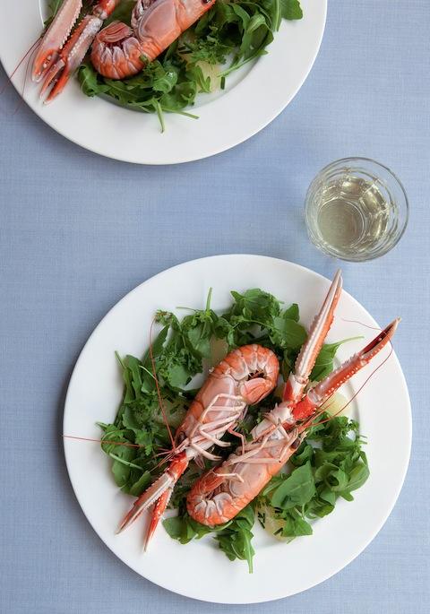 264 Langoustine salad