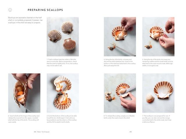 304-5 Basic techniques Preparing scallops