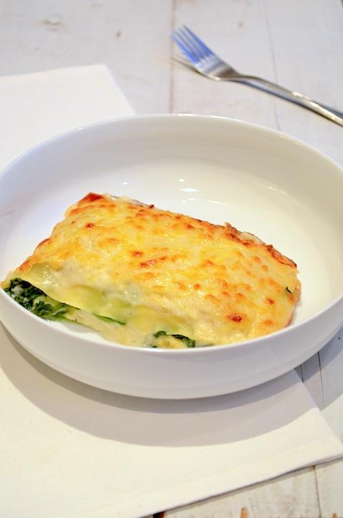 Witte lasagne met bechamelsaus