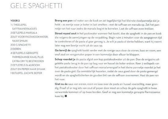 gele spaghetti