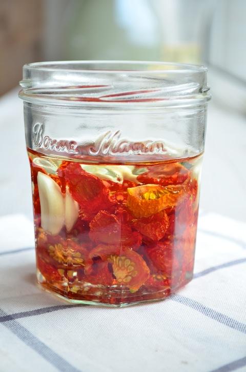 Tomaten drogen in de oven