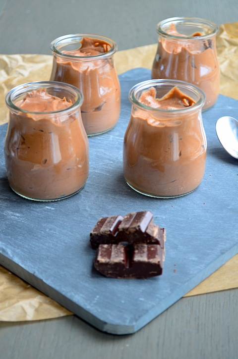 Luchtige chocolademousse