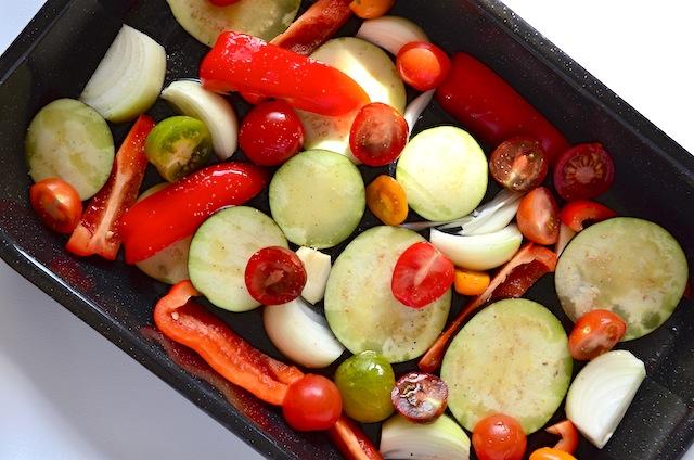 Geroosterde groente