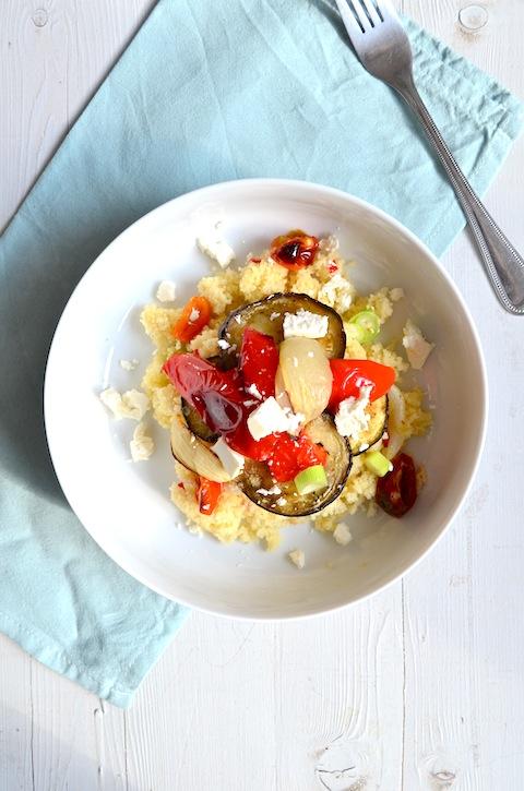 Couscous met groente