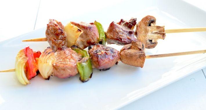 Harissa kipspiesjes voor op de BBQ Uit Pauline's Keuken
