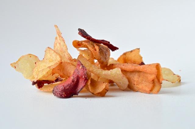 Tyrells veg chips