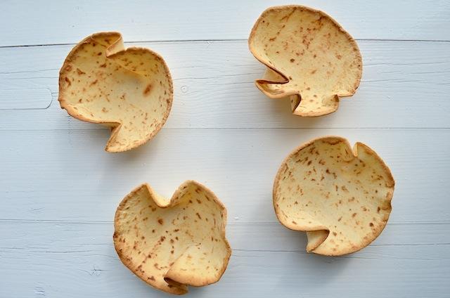 tortilla schaaltjes