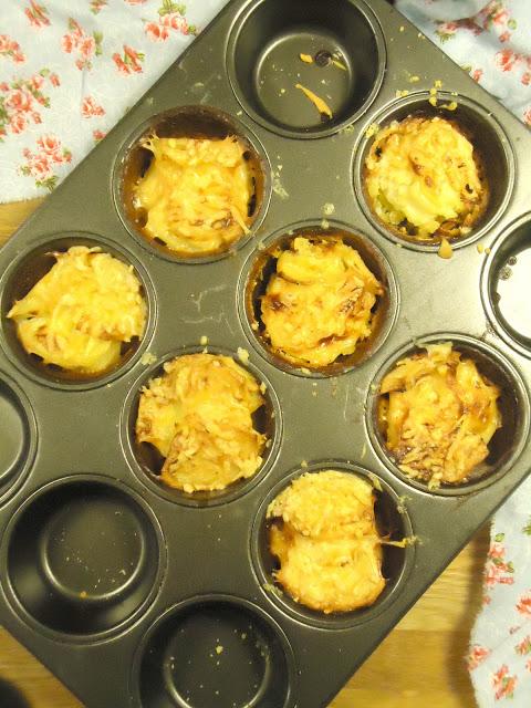 aardappel pastinaak taartjes