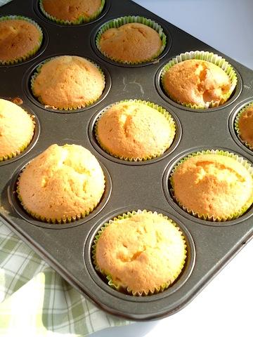 bananen noten cupcakes