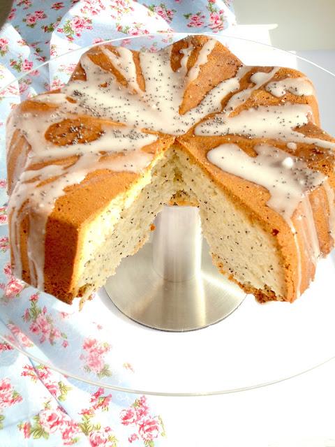 citroen maandzaad cake