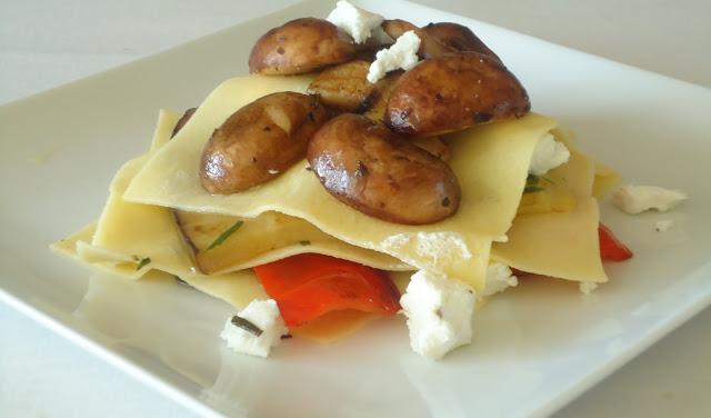 open lasagne