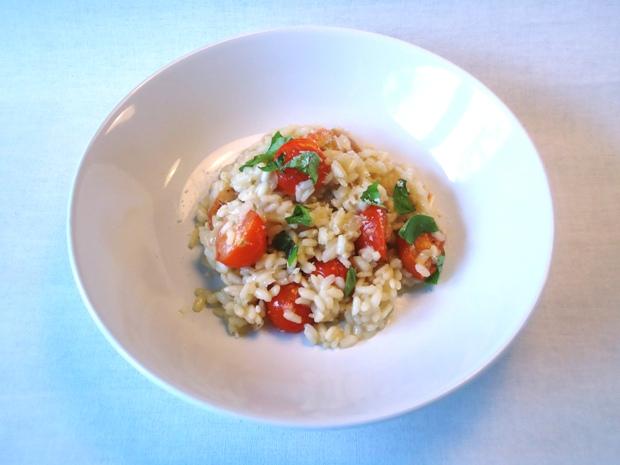 risotto met tomaat