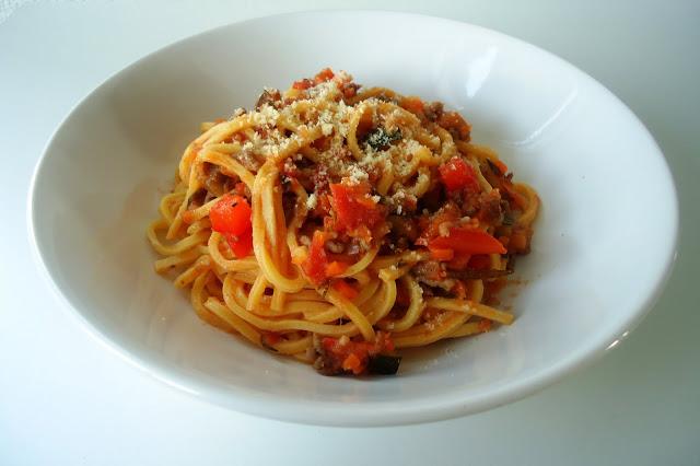 spaghetti al ragu