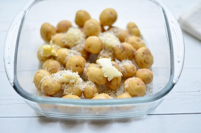 Parmezaan aardappeltjes