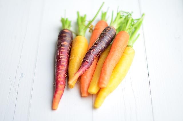 regenboogwortelen