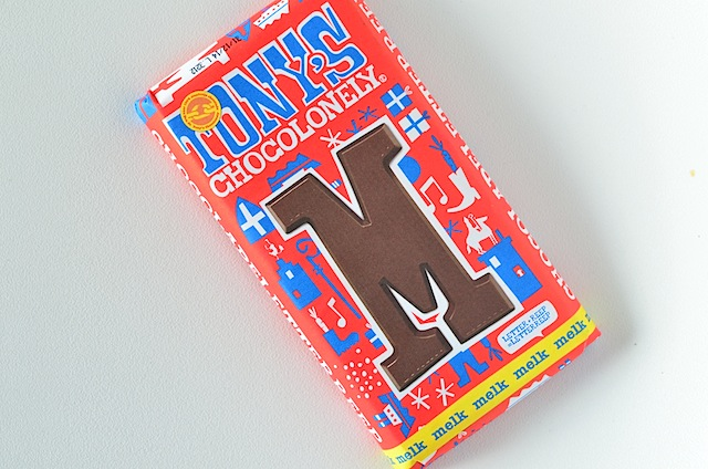 Tony's chocoladeletter