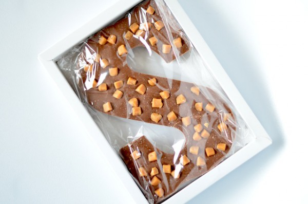 chocstar chocolade letter