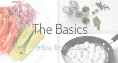 The Basics #2 Snijtechnieken (Uien, knoflook, Peper snijden)