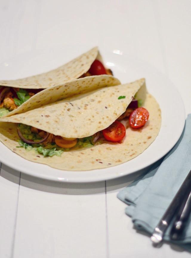taco's met zalm
