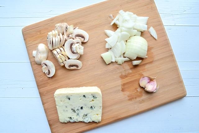 pasta met gorgonzolasaus