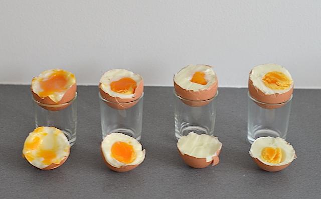 hoe lang voor een hardgekookt ei