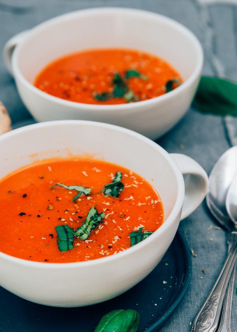 Tomatensoep van Mau