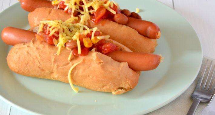 Men food chili dog uit pauline 39 s keuken - Tape geleid keuken ...
