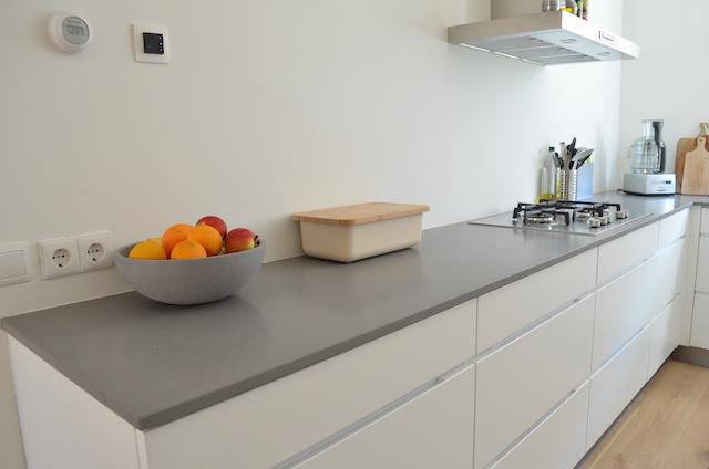 Keuken Lichtgrijs : Kvik Keuken