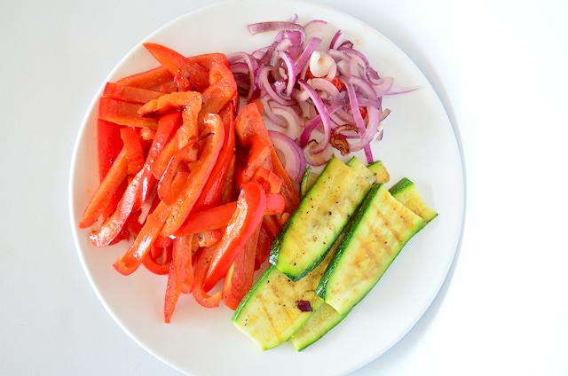 quesadillas met groente