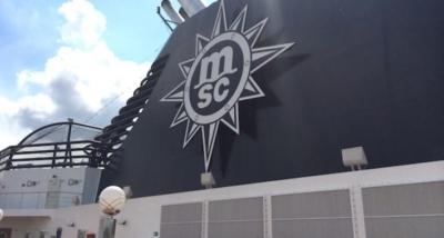 Video: aan boord bij  MSC Cruise