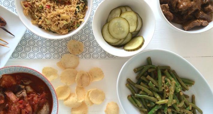 zelf een rijsttafel maken