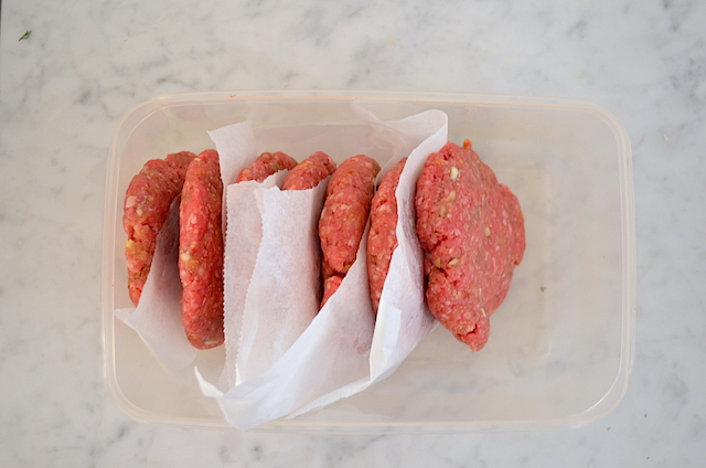 hamburgers maken