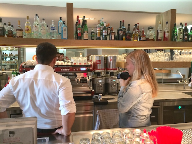 Latte art workshop,