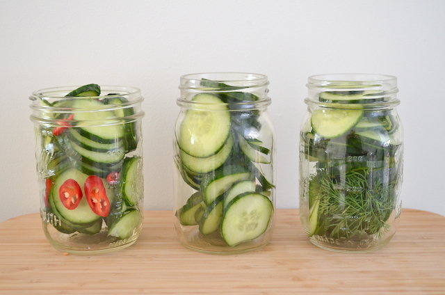 Komkommers inmaken 3x uit pauline 39 s keuken - De komkommers ...