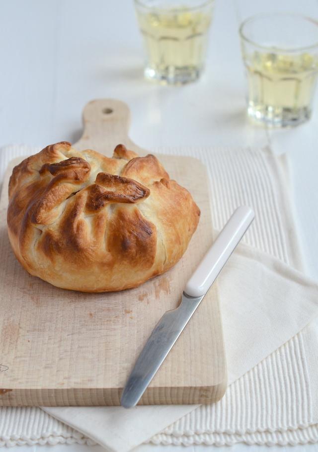 camembert in bladerdeeg