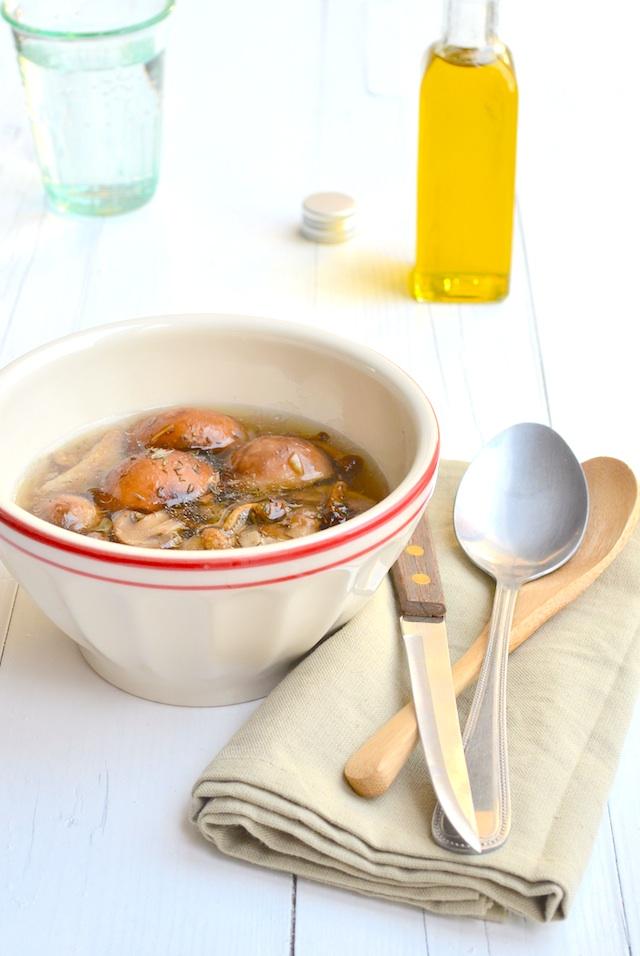 paddestoelen soep