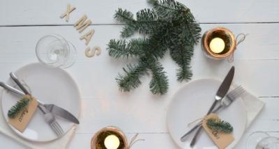 Tafeldek inspiratie voor Kerst