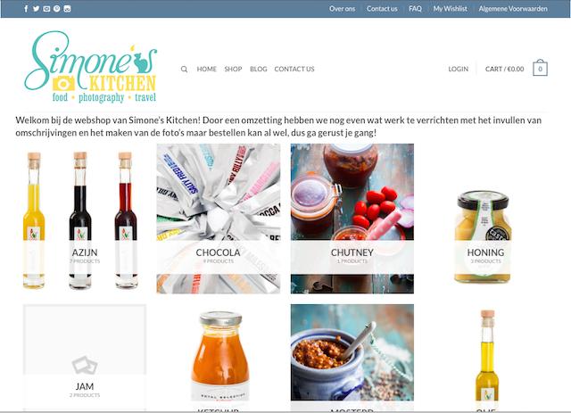 simones kitchen webshop