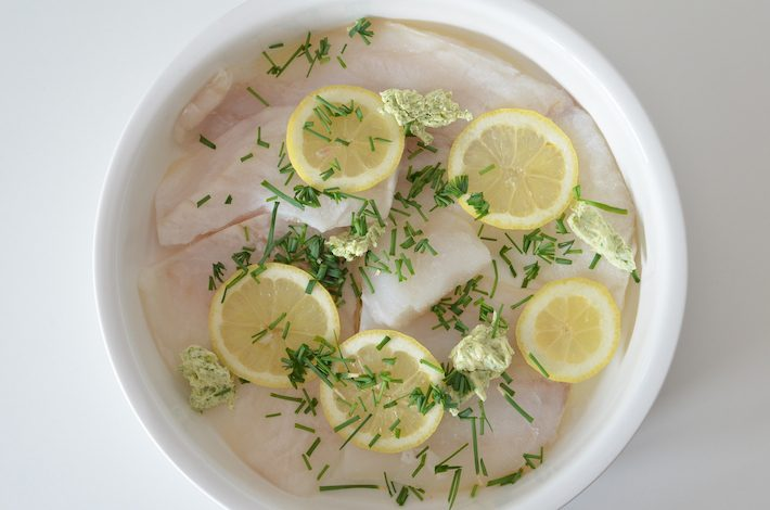 citroenvis uit de oven