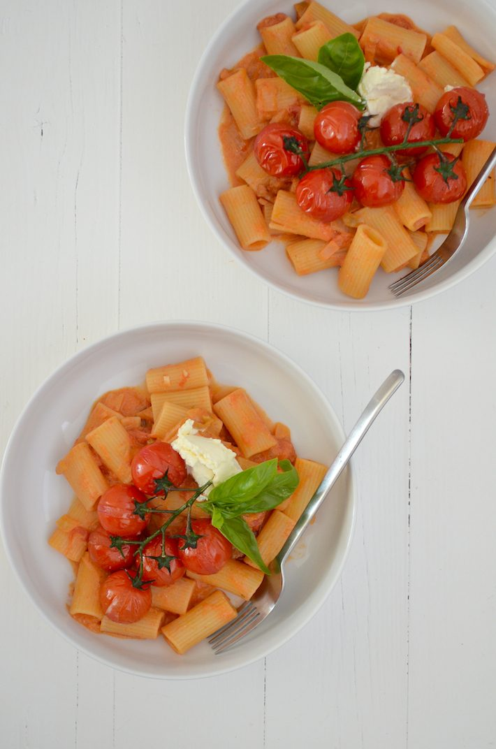 mascarpone door pastasaus