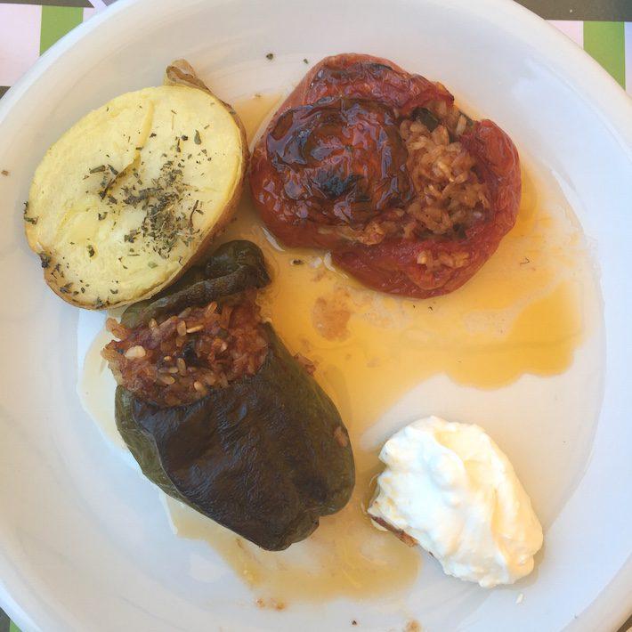 foodie in griekenland
