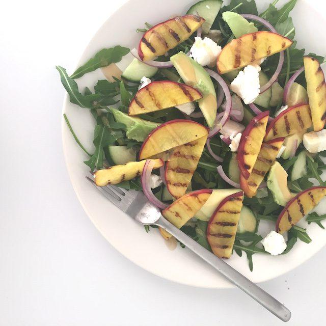 my life perzik salade