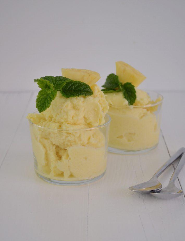 ananas ijs