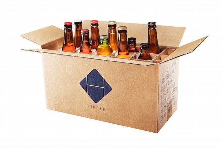 Hopper bierbox