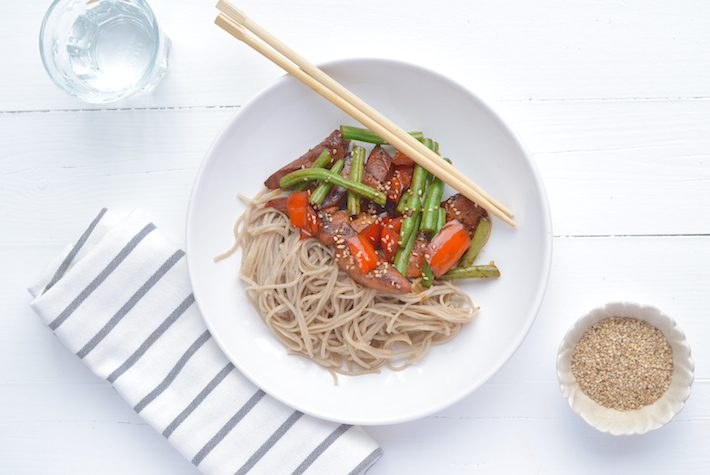 Fresh & Easy: Hete kip met sriracha saus - Uit Pauline's Keuken